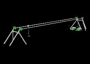 Zjazd linowy podwójny