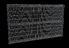 OP-01 Ogrodzenie panelowe
